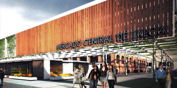Concurso Mercado Central de Talca